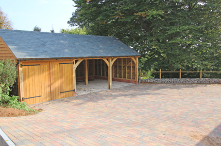 Oak Framed Buildings Devon